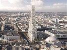 Proslul� �v�car�t� architekti Jacques Herzog a Pierre de Meuron stoj� za n�vrhem pa��sk�ho mrakodrapu.