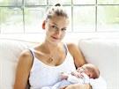 Hana Soukupová a její syn Finn