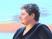 Handicapovaná plavkyn� B�la T�ebínová