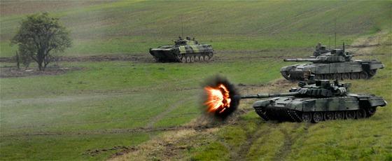 Zte� mechanizovan� jednotky na Dnech NATO v Ostrav�