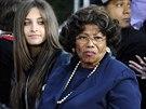 Paris Jacksonová s babičkou Katherine