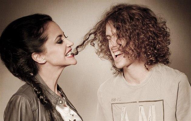 Lucie Bílá a její syn Filip Kratochvíl