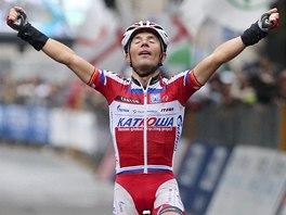 OBHÁJCE. Jednorázový cyklistický závod Kolem Lombardie vyhrál stejně jako vloni Joaquim Rodríguez.