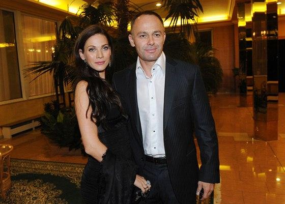 Andrea Vere�ov� a jej� man�el Daniel Volopich