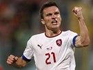 ANO! David Lafata se raduje z gólu proti Maltě.