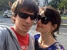 Jana Stryková s partnerem Matějem