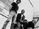 Kapela Nirvana - Krist Novoselic, David Grohl a Kurt Cobain (1991)