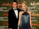 Gavin Rossdale a Gwen Stefani (17. ��jna 2013)