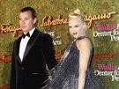 Gavin Rossdale a Gwen Stefani (17. října 2013)