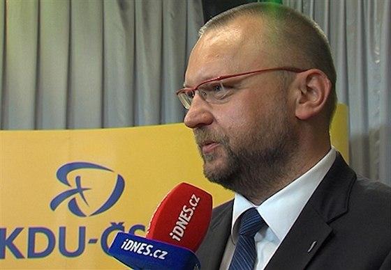 Místopředseda Sněmovny Jan Bartošek z KDU-ČSL