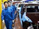 Škoda Auto vyrábí v Číně své vozy v už třetím závodě. Jedním z nich je i automobilka Shanghai Volkswagen ve městě An-Tching