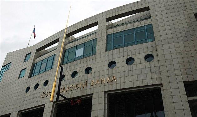 Budova �eské národní banky v Ústí nad Labem je p�íkladem kvalitní novostavby.
