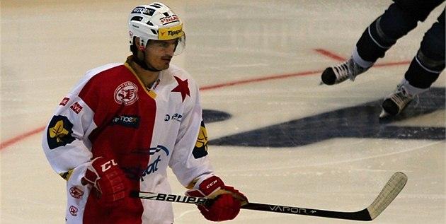POPRVÉ V NOVÉM. Hokejový úto�ník Jan Kolá� v ned�li nastoupil za Slavii, kde