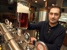 Bývalý hokejový brankář Roman Čechmánek ve Zlíně čerstvě provozuje rodinný pivovar.