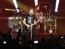 Nickelback na koncert� 7. listopadu 2013 v pra�sk� O2 ar�n�