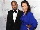 Kanye West a Kim Kardashianov� (22. ��jna 2012)