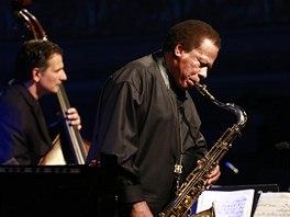 Wayne Shorter Quartet v Lucerně, 6. 11. 2013 (John Patitucci, Wayne Shorter)