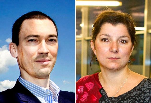 Právníci Franti�ek Korbel a Dana Prudíková