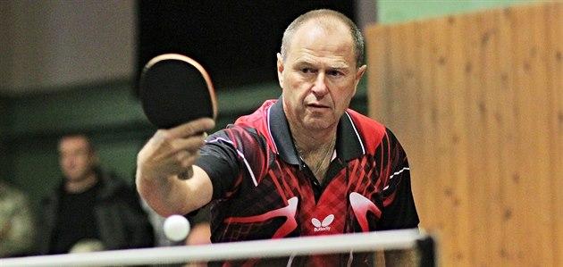 Stolní tenista Milan Orlowski