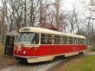 Tatra T3 je �eskoslovensk� tramvaj, vyr�b�n� od za��tku 60. let do druh� poloviny 90. let 20. stolet� podnikem �KD Praha v z�vod� Tatra Sm�chov. S p�ibli�n� 14 tis�ci kusy se jedn� o nejpo�etn�ji vyr�b�n� tramvajov� v�z na sv�t�.