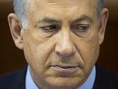 Izraelský premiér Benjamin Netanjahu dohodu Západu s Íránem ostře odsoudil (24. listopadu 2013)