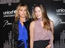 Tea Leoni a její dcera Madelaine West Duchovny (3. prosince 2013)