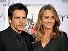 Ben Stiller a jeho manželka Christine Taylorová (3. prosince 2013)