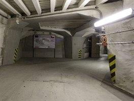 Příklad uzavřené komory s radioaktivním odpadem financované EU