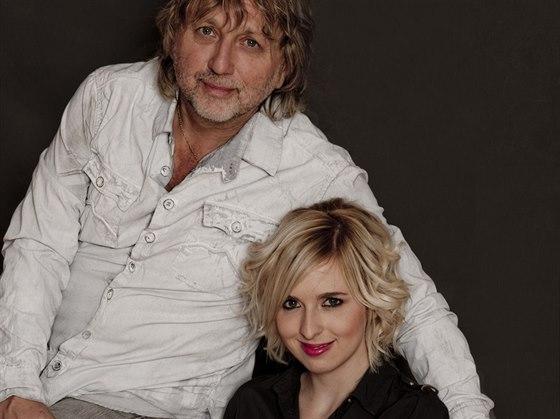 RODINA POD LUPOU: Dalibor Janda a jeho dcera Ji�ina Anna Jandov�