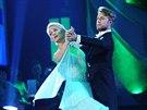 Anna Pol�vkov� a Michal Kurti� ve fin�le StarDance VI - gener�lka (21. prosince 2013)
