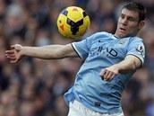 ZPRACOVÁNÍ. James Milner z Manchesteru City.