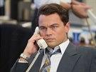 Leonardo DiCaprio ve filmu Vlk z Wall Street z roku 2013