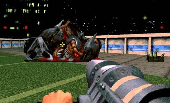 Kdo by neznal Duke Nukema 3D? I p�es technologick� omezen� nab�dl tak pestr� z�itek, �e mu m�e spousta dne�n�ch her jen z�vid�t.