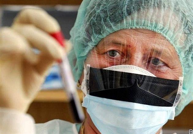 ch�ipka, výzkum, vakcína, virus