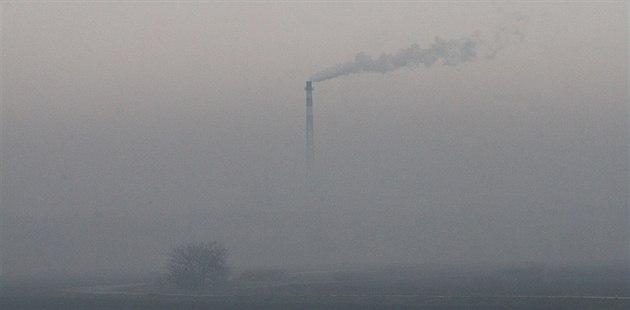 Také na přelomu loňského a letošního roku pokryl smog velkou část...