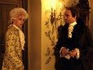Z Formanova fillmu Amadeus: Tom Hulce jako Mozart, F. Murray Abraham jako Salieri
