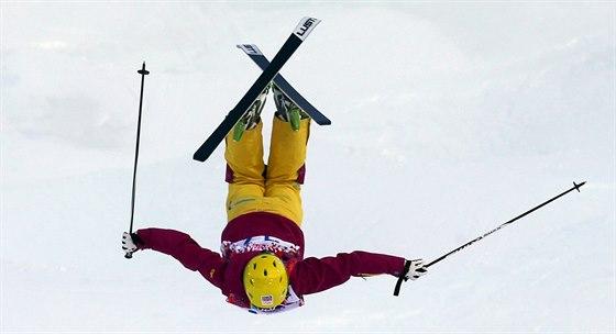 Nikola Sudová na olympijských hrách v Soči.