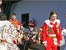 Tradiční masopust ve skanzenu na Veselém Kopci u Hlinska