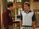 Charlie Sheen v seriálu Dva a půl chlapa