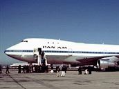 Jeden z prvn�ch B747 pro Pan Am.
