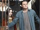Ellen Page a Leonardo DiCaprio ve filmu Po��tek (2010)