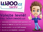 Porovnejte si tarify a volejte levn�ji díky srovnáva�i Tarify.WAOO.cz