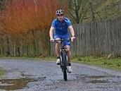 Ji�í Ho�ej�í z Dobronína ujede ro�n� deset tisíc kilometr� na kole.