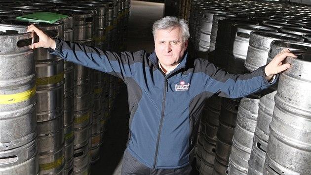 Člen představenstva pardubického pivovaru leoš kvapil. | foto