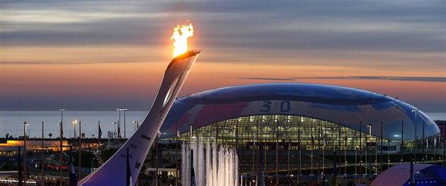 Posledním kláním zimních olympijských her v So�i bylo hokejové finále mezi...