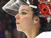Kanadská hokejistka Shannon Szabadosová