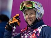 DOBRÝ VÝSLEDEK. Tomáš Kraus se usmívá po kvalifikaci olympijského skikrosu, v níž skončil devátý.