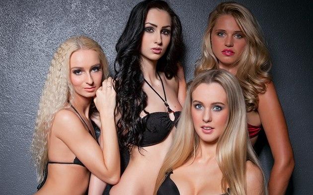 Tyto dívky se cht�jí stát Miss Motocykl 2014.