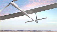 Start dronu Solara 50 od spole�nosti  Titan Aerospace