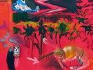 Velkoformátový obraz Vladimíra Franze Zajícova smrt